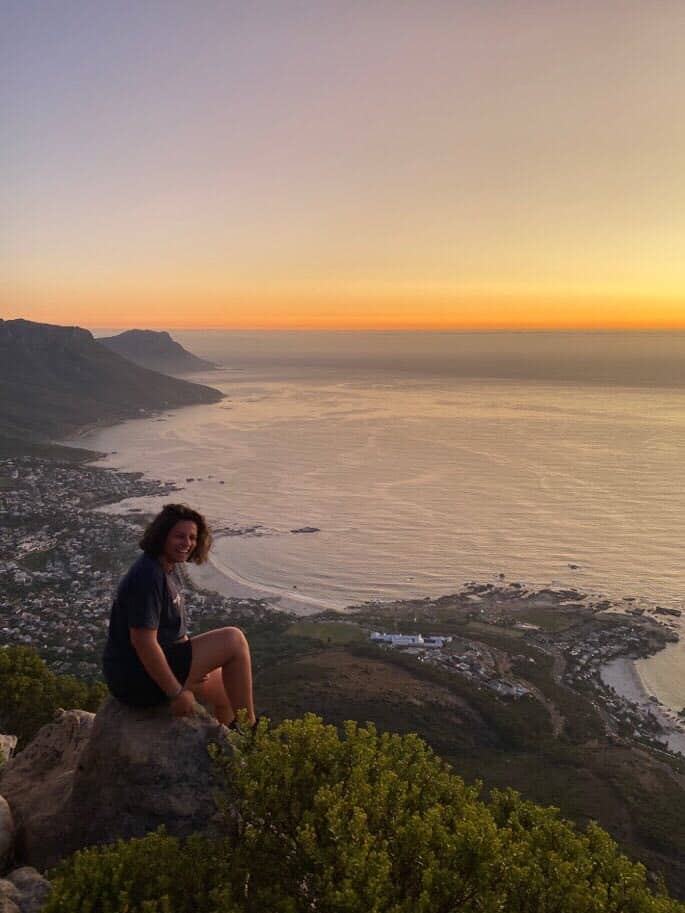 Anaëlle in Cape Town